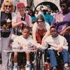 I organized a trip to Disneyland with 200 special-needs children - pictured here with actress Ilene Graff (far left) from TV show Mr. Belvedere.